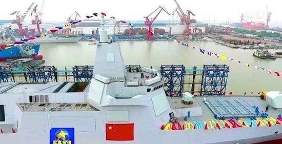 055舰的建造与下水保密比航母还严格