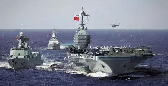 中美未来的海上对峙将越来越频繁