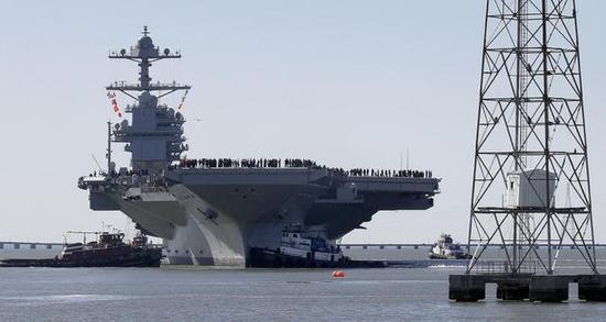 美海军福特级航母