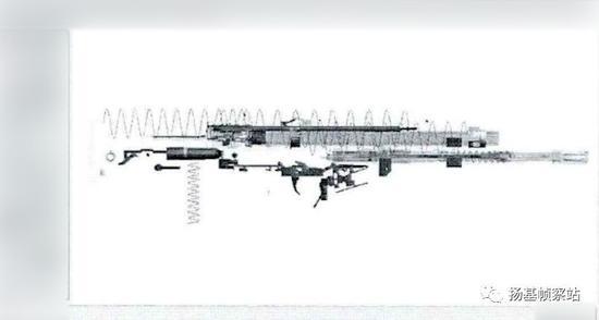 第一阶段的方案图,注意围绕着榴弹发射器身管