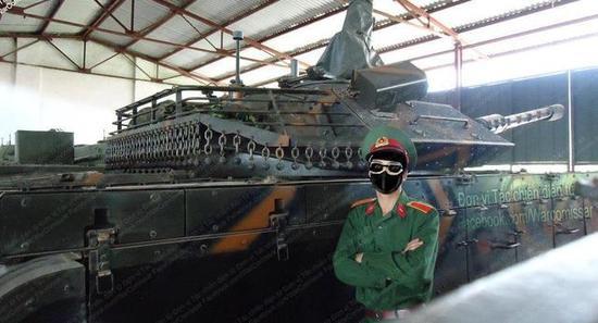 越南主力坦克还是