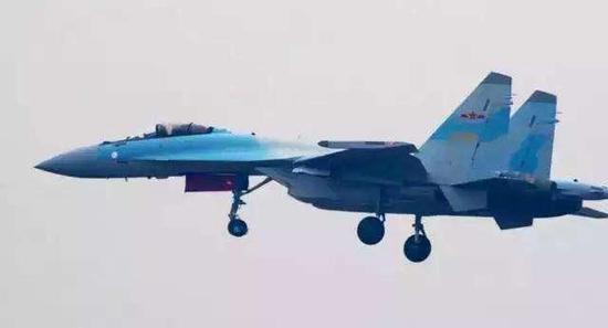 苏35战机交付给中国了