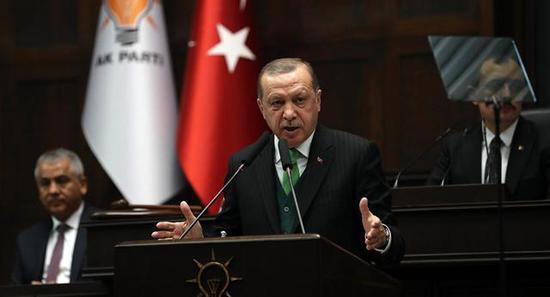 图注:土耳其铁腕领导人埃尔多安