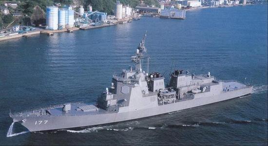 ▲爱宕级是日本的最强驱逐舰,但仅建造了2艘,越造越差成为日本海军现状