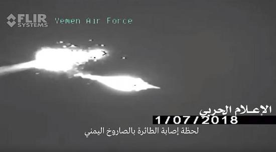R-27T导弹命中目标,F-15被击落