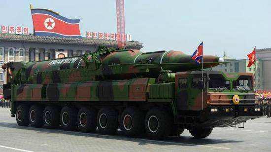 日媒称朝鲜弹道导弹或将携带炭疽弹头 美韩严加防范