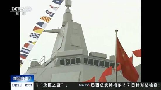 055舰的雷达和武器比宙斯盾舰还先进