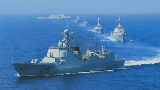 中国海军规模和战力是美军之外最强的