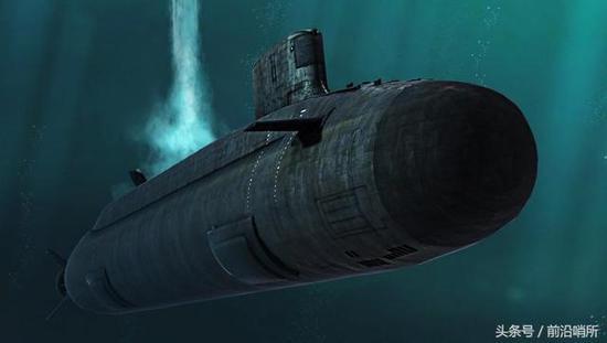 资料图:096核潜艇CG