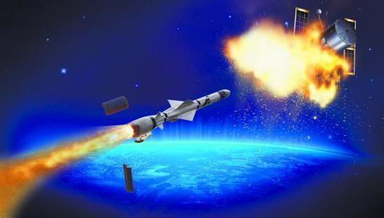 反导导弹当然也能进行反卫星作战