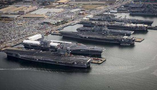 美军传统军力优势正在被动摇