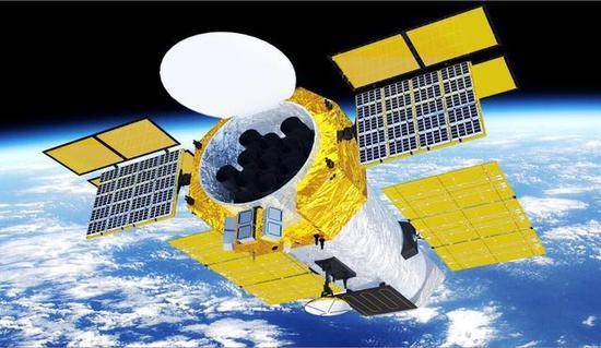 资料图:eXTP空间天文台效果图