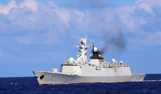 中国战舰航行6千海里不用补水 海军或将追加6艘订