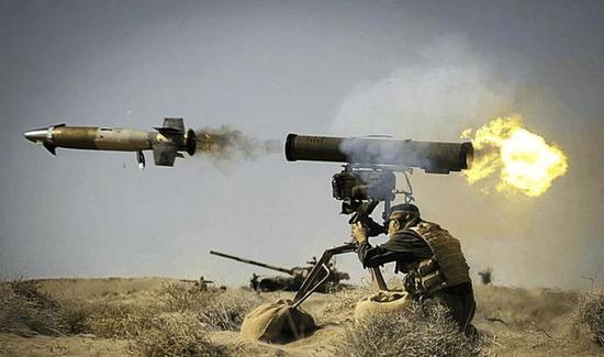 手握美俄德三国先进反坦克导弹 谁给库尔德提供装备