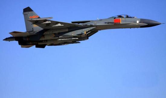 图注:歼-11系列战斗机