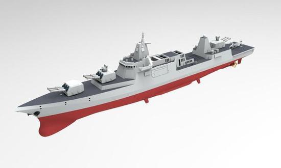 电磁炮耗电有多大 我军055舰航行时开炮或