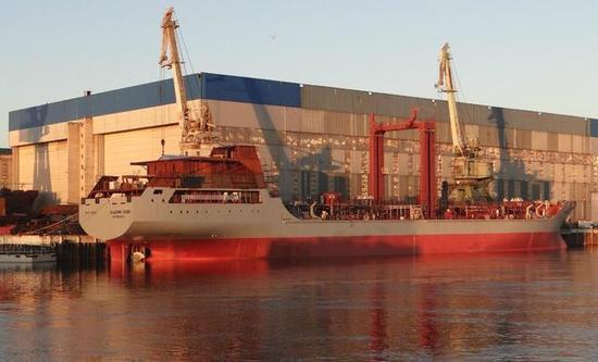 俄补给舰用上中国补给设备