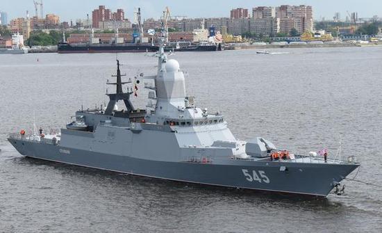 俄计划大量建造的20380型护卫舰