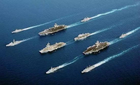 美军准备在太平洋部署6艘航母来者不善