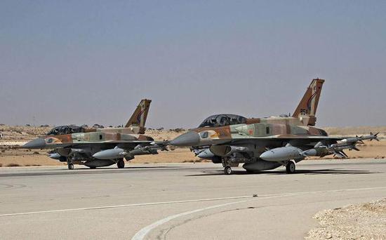 ▲F-16在以军中担负对地攻击职责