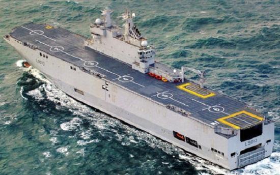 法国拒售西北风两栖攻击舰让俄很受伤