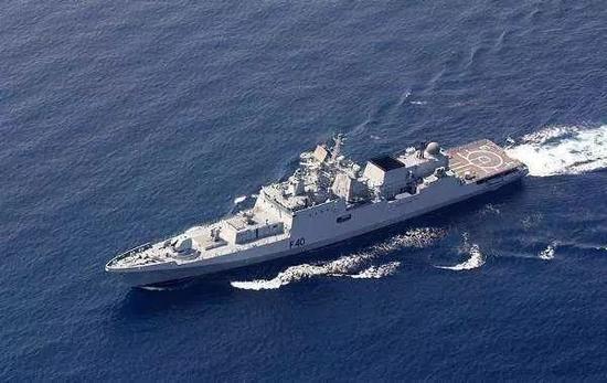 印军追加订购的俄罗斯11356M型护卫舰
