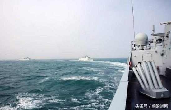 美军核潜艇竟畏惧中国军舰这个按键 能给其致命打击