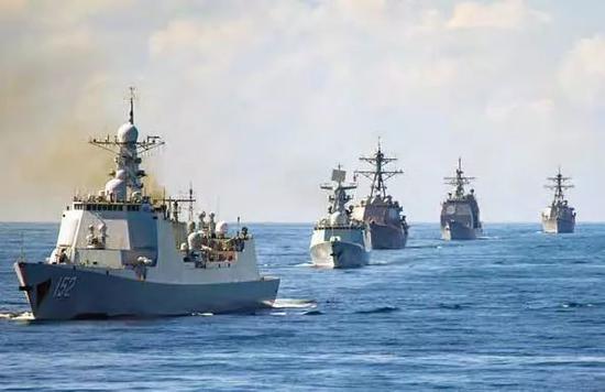 外媒盘点亚太各国驱护舰发展 中国055大驱有多项优势