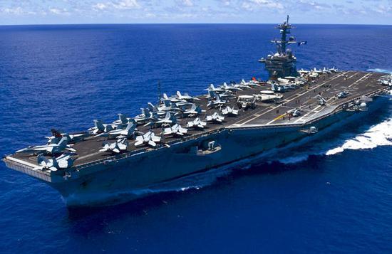 越战后美国航母首访越南:发出搅局南海新信号