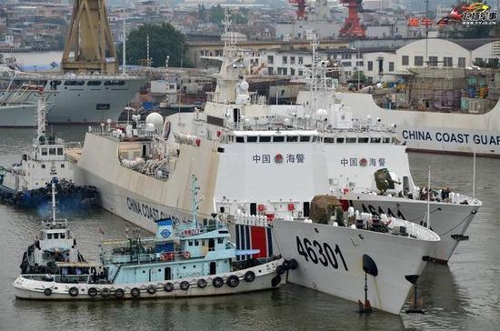 ▲818型和718型巡逻舰