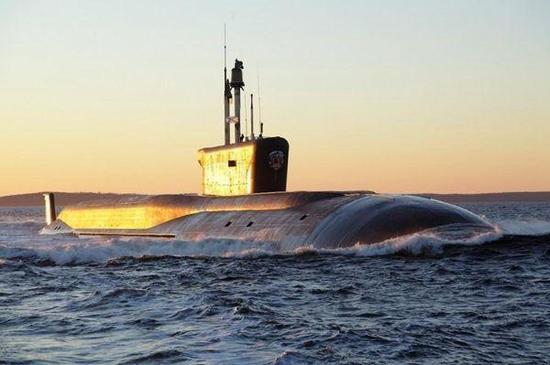 俄罗斯北风之神级核潜艇