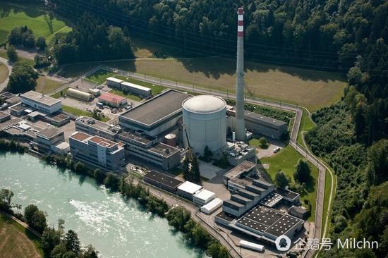 1972年建成的米勒贝格核电站将被整体拆除