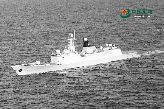 中国海军054A舰军官:与英法相比我们优势不够明显
