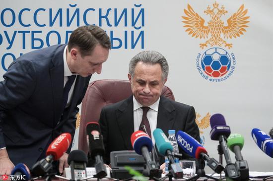 俄罗斯国足服用兴奋剂被爆料 或无缘俄罗斯世界杯