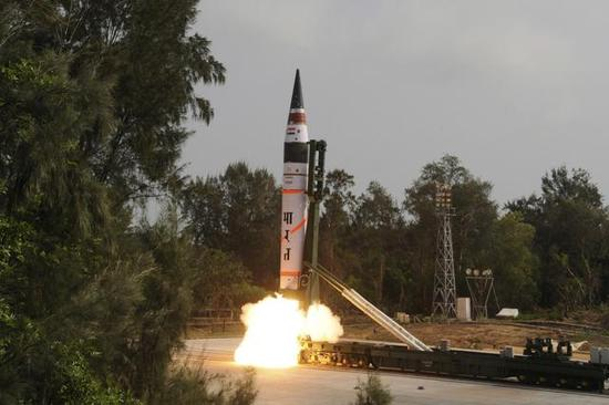 印度第一种洲际导弹很快将服役 足足比中国晚三十多年