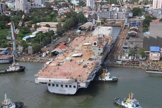 印度海军实力是否真的很差?在亚洲仅次中国匹敌日本