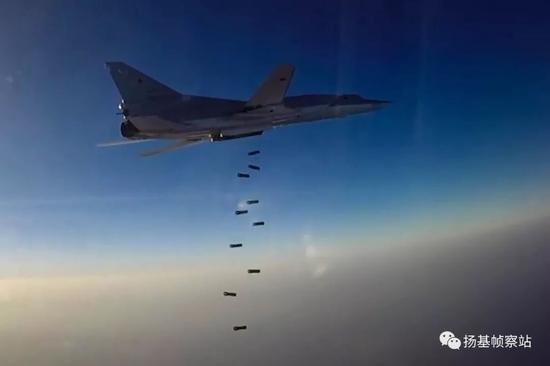 从阿富汗到叙利亚,图-22M3在陆上常规战争中能用的也就这一招