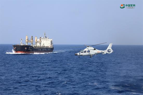 真实红海行动罕见曝光:我海军首次抓获持AK47海盗