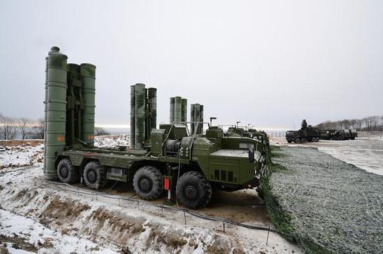 俄军S-400进入战备值班状态