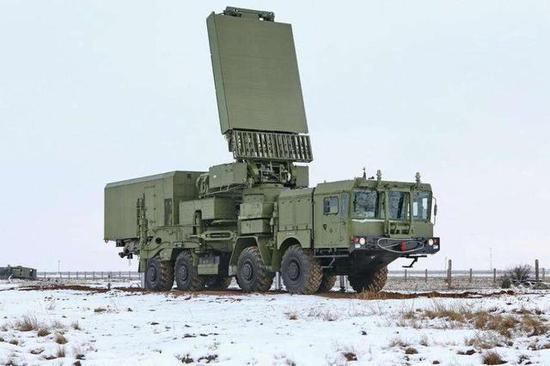 S-400防空导弹装备的雷达