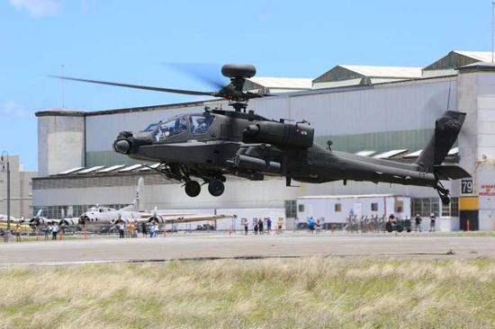 美在印度建阿帕奇直升机生产线 机身将由印度制造