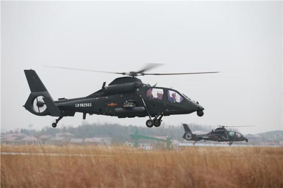 我军新建两个空中突击旅 步兵已能分秒呼叫空中支援