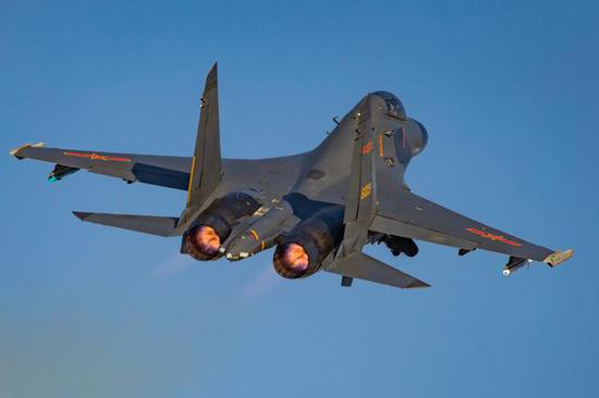 首批歼-11B/BS战机使用的还是AL-31F系列发动机。