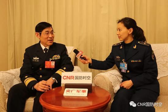 中国海军装备部政委:将有很多新装备带给大家惊喜