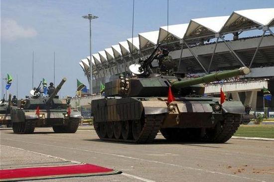 坦桑尼亚装备的59-125坦克