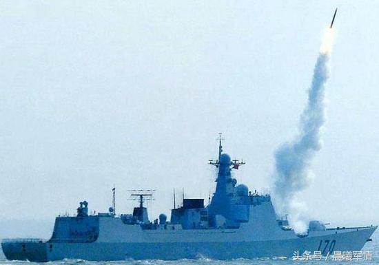 海红旗9主要装备052C型驱逐舰