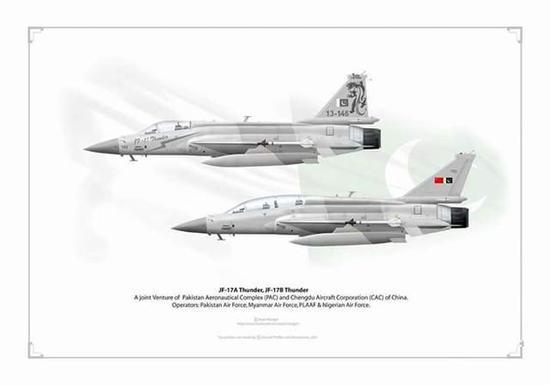 双座版枭龙战机亮相巴基斯坦 巴网友表示非常激动