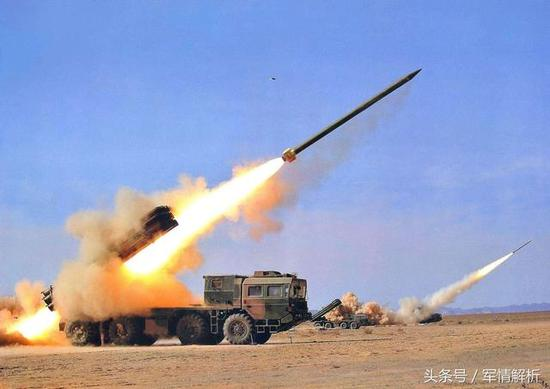 (中国陆军的火力投射能力已经达到世界第一的水平)