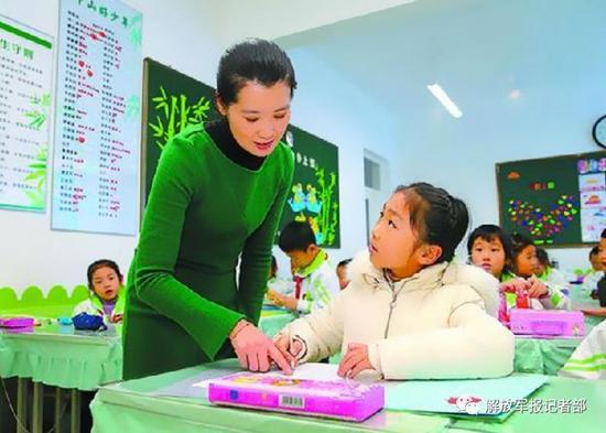 某移防部队干部王利军8岁的女儿如愿转入省级一类小学中山路小学就读