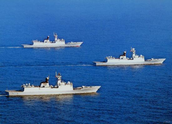 江南船厂或将建造首批054B型护卫舰 动力系统超预期